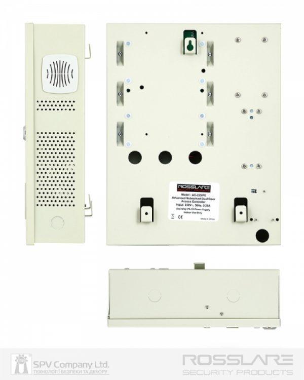 Фото 2 - Электронный контроллер ROSSLARE AC-225IP-E внутренний сетевой в корпусе, с IP-модулем.