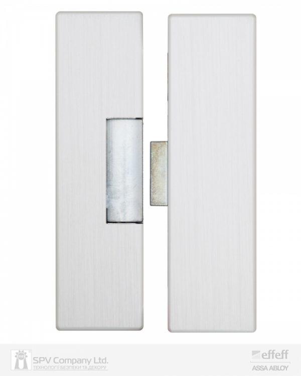 Фото 8 - Защелка электромеханическая EFF EFF 9314VGL 10 -E31 (12V DC Ee UNIV 10мм) НЗ для стеклянных дверей.