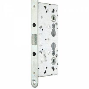 Фото 11 - Замок TESA врезной для активной створки CF65 (BS65 72мм Zinc) 9мм для проходных дверей, цилиндр не работает.