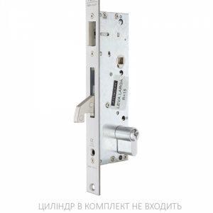 Фото 19 - Замок TESA врезной для активной створки 2240BA (BS35 85мм Zinc) 8мм RIGHT открывание наружу, для профильных дверей, PANIC FUNCTION.