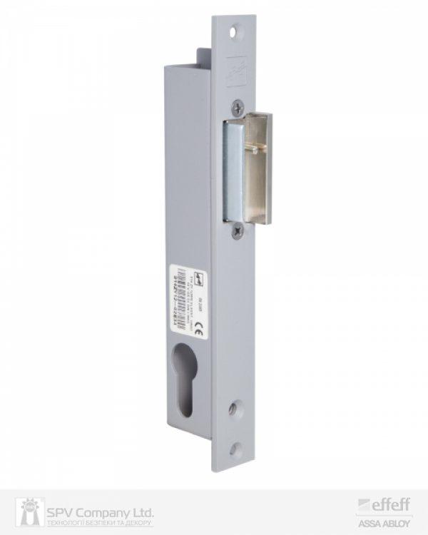Фото 6 - Защелка электромеханическая EFF EFF 914 ZY12 -02E34 (W/O SP GREY 12V DC Ee L 12мм) НЗ для стеклянных дверей.