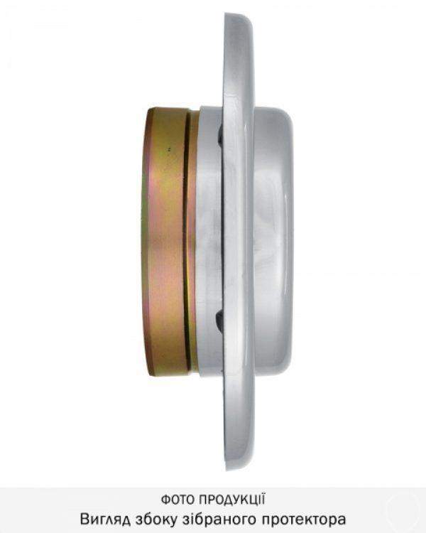 Фото 6 - Протектор DISEC SFERIK BDS16/4 DIN OVAL 25мм Хром полірований 3клас C Комплект.