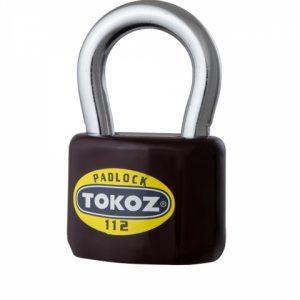 Фото 11 - Замок висячий TOKOZ 112/50 3KEY TK1 M R shackle 32мм 9мм.