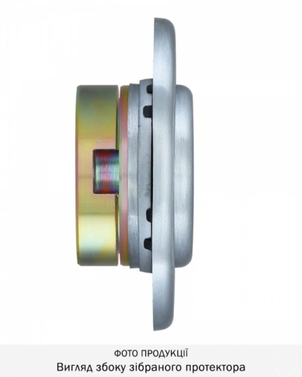 Фото 13 - Протектор DISEC CONTRO CD2100 DIN OVAL 30/40мм Хром мат 3клас T Внутренний, регулируемый.