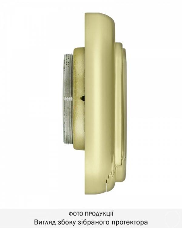 Фото 3 - Протектор DISEC MAGNETIC 4G MG3551 DIN OVAL 30мм Латунь PVD 3клас 2 3KEY KM0P55 Внешний.