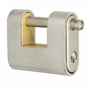 Фото 18 - Замок навесной VIRO PANZER ST.STEEL VR 4117.X 3KEY 20мм 12мм BOX key profile patented.