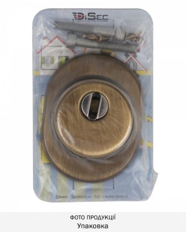 Фото 4 - Протектор DISEC SFERIK BD16/4 DIN OVAL 25мм Бронза сатин 3клас BS Внешний.
