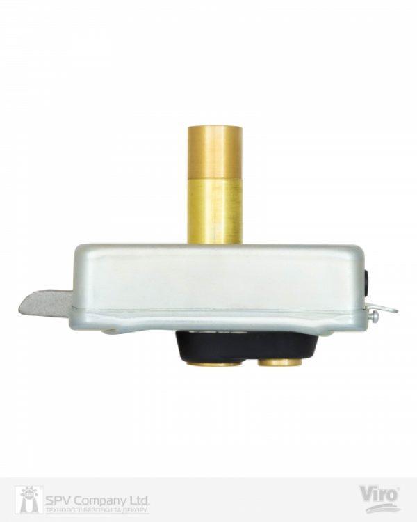 Фото 11 - Замок электромеханический VIRO V9083.0794P BS50/80мм T1/T2 12VAC NC CYL 3KEY GATE накладной, с кнопкой SS открывание внутрь.