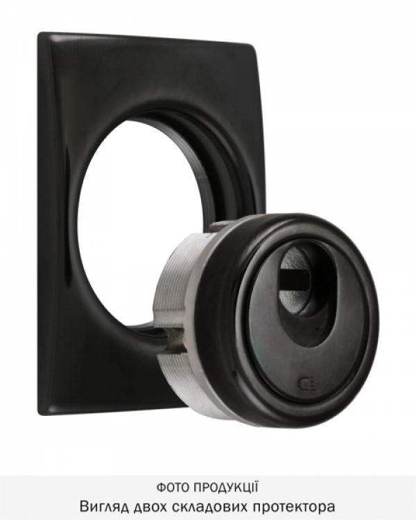 Фото 6 - Протектор DISEC MAGNETIC 3G 3G2WB DIN SQUARE 25мм Хром чорний 8 3KEY KM0P3G Внешний.