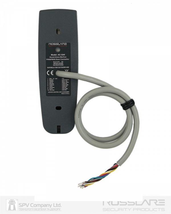 Фото 4 - Электронный контроллер ROSSLARE AC-G44 автономный внешний код+карта EM-MARINE 125Khz.