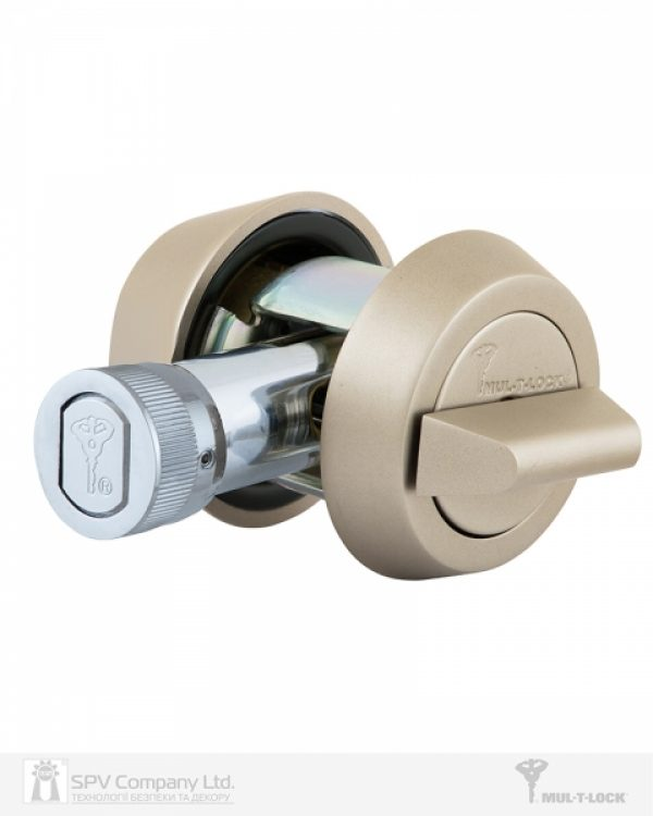 Фото 4 - Замок врезной MUL-T-LOCK 1-WAY DEAD BOLT HERCULAR SATIN NICKEL UNIV BS60/70мм *MT5+ 3KEY DND5I BLUE INS 948B metal door SP.