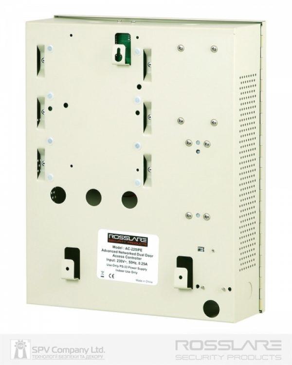 Фото 5 - Электронный контроллер ROSSLARE AC-225IP-E внутренний сетевой в корпусе, с IP-модулем.