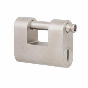 Фото 17 - Замок навесной VIRO MONOLITH 4144 3KEY 20,5 мм 13мм BOX key profile patented.