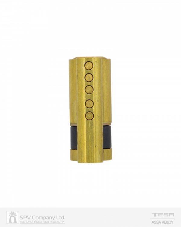 Фото 4 - Ручка TESA внешняя накладной MODULAR VECTOR (PZ with TE5 CYL) N N: black (RAL 9005) 8мм.