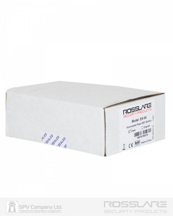 Фото 5 - Кнопка выхода ROSSLARE EX-0400 внутренняя пьезо.