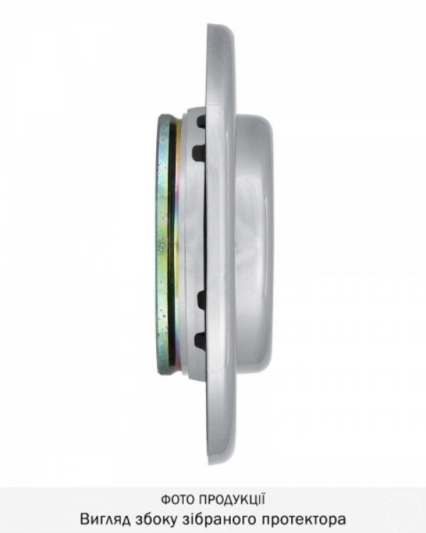 Фото 5 - Протектор DISEC CONTRO CD2000 DIN OVAL 21мм Хром полірований 3клас C Внутренний, не регулируемый.
