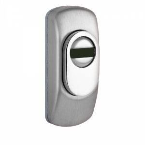 Фото 15 - Протектор DISEC GUARD SG15 DIN FOR PROFILE DOOR OVAL 25мм Нерж.сталь мат 3клас IT.