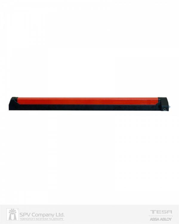 Фото 11 - Замок TESA для эвакуационного выхода накладной QUICK1S NR N: black (RAL 9005)/R: red (RAL 3000) 1 Locking 900мм 8мм.