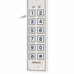 Фото 30 - Электронный контроллер ROSSLARE AYC-E65BW автономный повышенной безопасности внешний код+карта EM-MARINE 125Khz с пьезо кнопками.