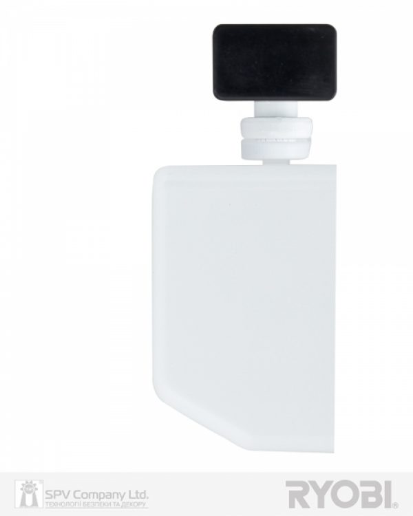Фото 5 - Доводчик накладной RYOBI DS 4550-4550T WHITE BC/DA SLD HO ARM EN 1-4 до 80кг 1100мм.