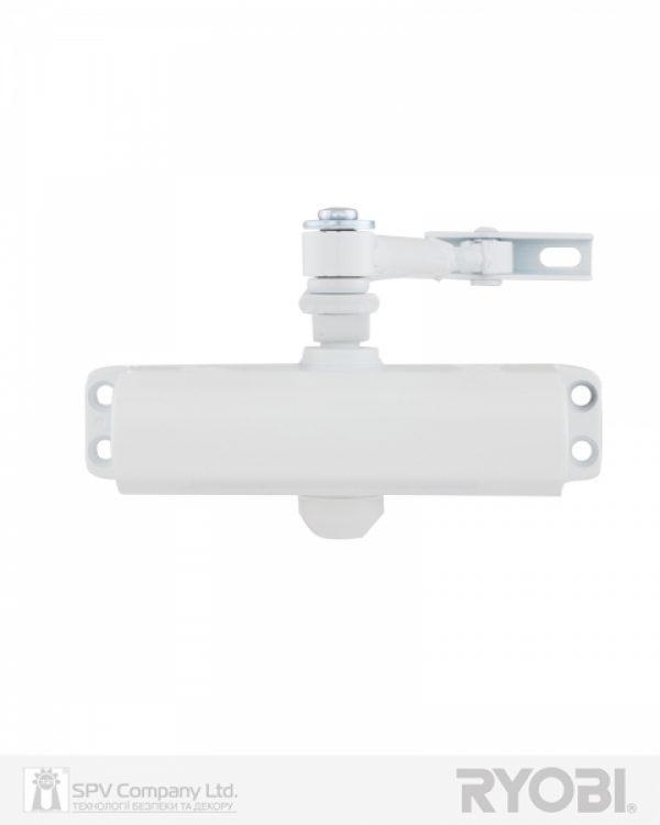 Фото 1 - Доводчик накладной RYOBI *9900 9903 GLOSSY WHITE STD ARM EN 2/3 до 65кг 965мм.