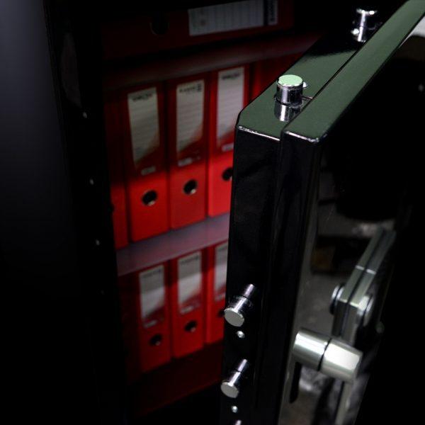 Фото 7 - Сейф взломостойкий CLE III.95.E Combi BLACK GLOSS.