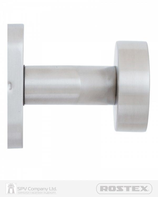 Фото 6 - Ручка дверная ROSTEX TABLET ES32 fix OVAL Нерж.сталь мат универсальное Tablet NEREZ MAT Половинка, шток 65мм.