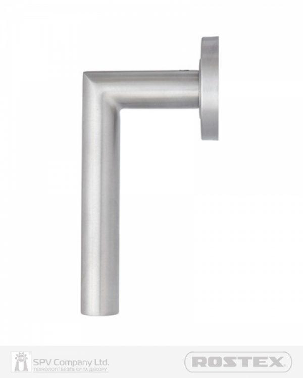 Фото 5 - Ручка дверная ROSTEX VIGO ES52 mov-mov ROUND Нерж.сталь мат Vigo NEREZ MAT Комплект, без винтов и штоке.