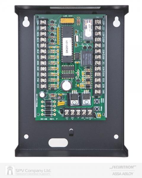 Фото 5 - Электронный контроллер SECURITRON DK-26 автономный антивандальный внешний код черный.