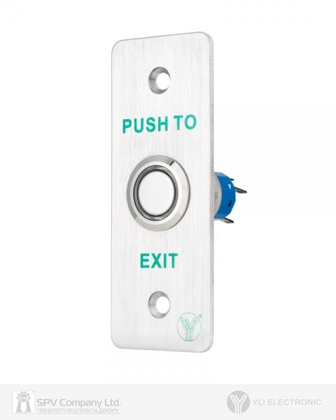 Фото 1 - Кнопка выхода YLI PBK-814A(LED).